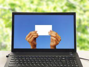 オンライン名刺のイメージ
